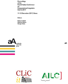 Proceedings of the Fourth Italian Conference on Computational Linguistics CLiC-it 2017