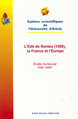 L'Edit de Nantes (1598), la France et l'Europe