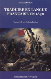 Traduire en langue française en1830