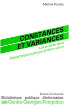Constances et variances