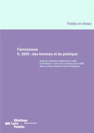 Le féminisme à la recherche de sa voix : perspectives croisées France/Amérique