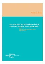 L'entreprise et la gestion dans les bibliothèques parisiennes