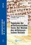 Toponyme der mittelassyrischen Texte: Der Westen des mittelassyrischen Reiches