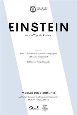 Einstein au Collège de France