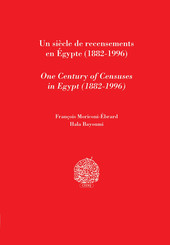 Un siècle de recensements en Égypte (1882-1996)