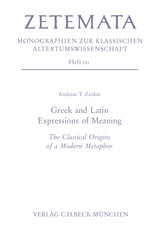 Greek and Latin Expressions of Meaning