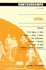 Les rapports texte/musique chez György Ligeti de Lux Aeterna au Grand Macabre