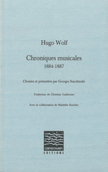 Chroniques musicales (1884-1887)