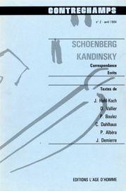 Commentaires sur l'«Harmonielehre» de Schoenberg