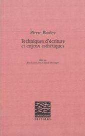 Index des œuvres citées de Pierre Boulez