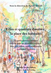 Villes et quartiers durables : la place des habitants