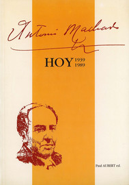 Antonio Machado y la Universidad Popular Segoviana