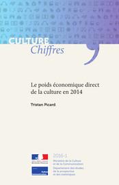Le poids économique direct de la culture en 2014