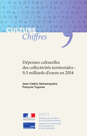 Dépenses culturelles des collectivités territoriales : 9,3 milliards d'euros en 2014