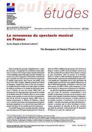Le renouveau du spectacle musical en France