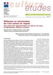 Diffusion et valorisation de l'art actuel en région