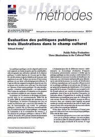 Évaluation des politiques publiques : trois illustrations dans le champ culturel