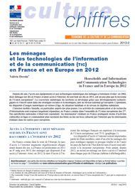 Les ménages et les technologies de l'information et de la communication (TIC) en France et en Europe en 2012
