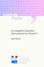 Les inégalités culturelles. Qu'en pensent les Français ?