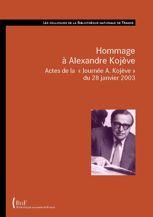 Hommage à Alexandre Kojève