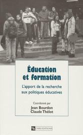 Éducation et formation