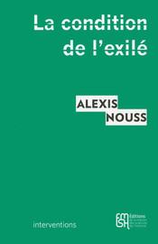 La condition de l'exilé