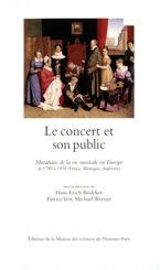 Le concert et son public