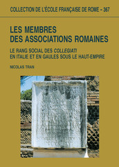 Les membres des associations romaines