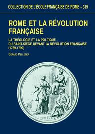 Les sources romaines dans l'historiographie de la Révolution française