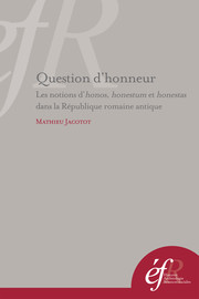 Question d'honneur