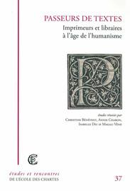 Le livre imprimé humaniste en Anjou et en Bretagne aux XVe et XVIe siècles