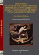 Apologético en favor de don Luis de Góngora, príncipe de los poetas líricos de España, contra Manuel de Faría y Sousa, caballero portugués