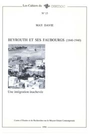 Beyrouth et ses faubourgs
