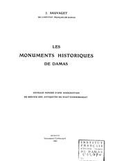 Les monuments historiques de Damas