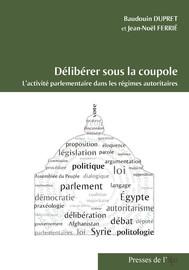 Analyse praxéologique et délibération parlementaire