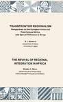 Transfrontier Regionalism. The Revival of Regional Integration in Africa
