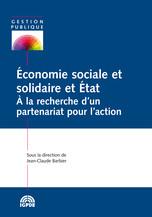 Économie sociale et solidaire et État