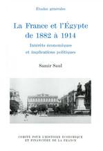 La France et l'Égypte de 1882 à 1914