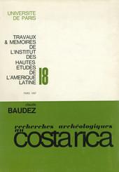 Recherche archéologiques dans la vallée du Tempisque, Guanacaste, Costa Rica