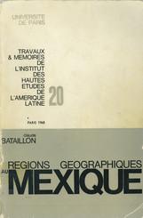 Les régions géographiques au Mexique