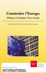 Construire l'Europe