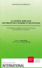 Chapitre II. La Genèse de la charte Africaine