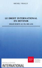 Sur la prétendue «primitivité» du droit international