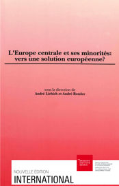La Conférence sur la sécurité et la coopération en Europe (CSCE) et la question des minorités nationales