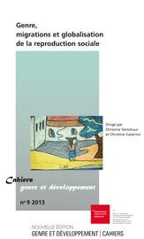 Présentation des Cahiers genre et développement