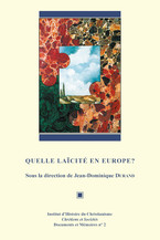 Quelle laïcité en Europe ?