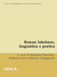 Roman Jakobson and the Generation «that Squandered its Poets»
