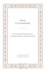 Dante et l'averroïsme