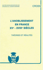 L'anoblissement en France, xve-xviiiesiècles