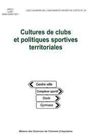 Séquence 1. « Sport dans les collectivités table ronde »